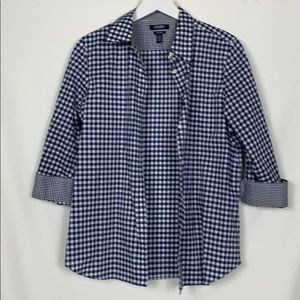Chaps No iron button down shirt size Lg